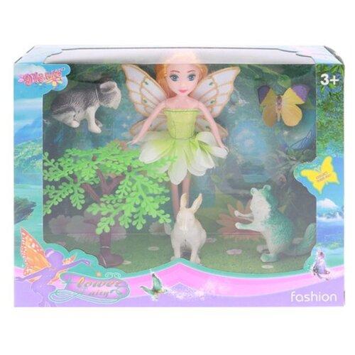 Купить Игровой набор На прогулке в комплекте кукла, предметов 5шт Shantoy Gepay 200421970, Наша игрушка, Куклы и пупсы