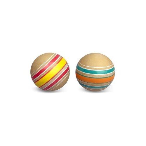 Мяч детский Эко Волчок 10 см, ручное окрашевание Мячи-Чебоксары Р7-100