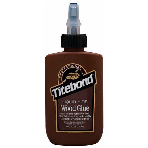 Профессиональный клей для дерева Liquid Hide, 118 мл, TITEBOND США, TTB5012