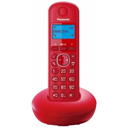 Фото - Радиотелефон Panasonic KX-TGB210 красный радиотелефон panasonic kx tgb210 красный