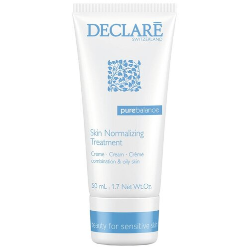 Declare Pure Balance Skin Normalizing Treatment Крем для лица, восстанавливающий баланс кожи, 50 мл