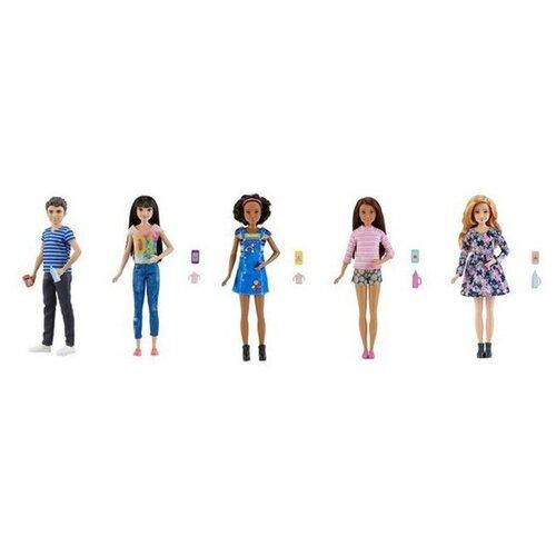 Фото - Кукла Barbie Няня Скиппер, 28 см, FHY89 кукла mattel barbie скиппер няня в клетчатой юбке с малышом и аксессуарами grp11