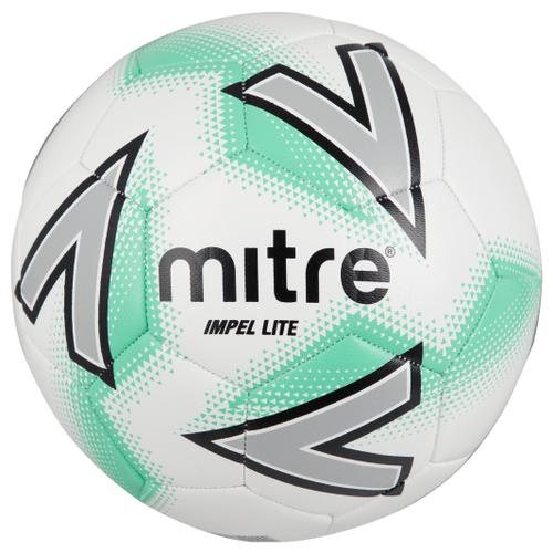 Мяч футбольный_MITRE_IMPEL LITE 290 г облегченный_4_бел/зел, шт