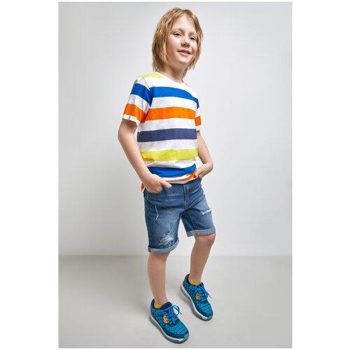 Купить Джинсовые шорты для мальчиков размер 170, синий, ТМ Acoola, арт. 20110420053, Шорты