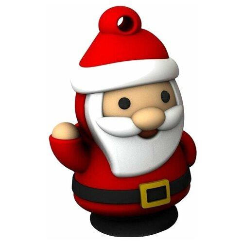 Фото - Флешка SmartBuy NY series Santa-S 16 GB, 1 шт., красный флешка smartbuy ny series snow 16 gb красный белый