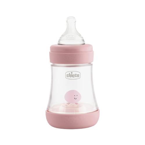 Chicco Бутылочка Perfect5 с силиконовой соской, 150 мл, с рождения, розовый бутылочка для кормления 0 chicco perfect5 girl 150 мл