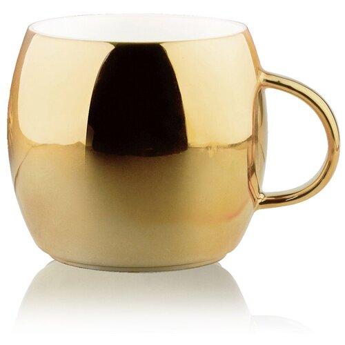 Asobu Кружка Sparkling mugs 380 мл золотистая