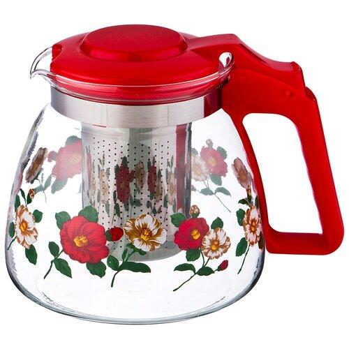 Чайник заварочный Agness 900 мл с фильтром (885-005)