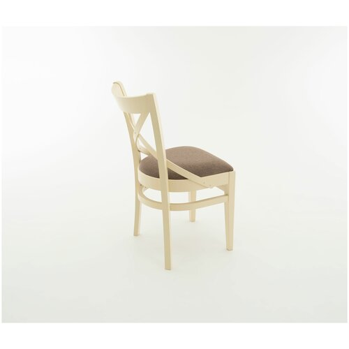 Комплект стульев Аврора Соло венский, слоновая кость/браво браун 2 шт.