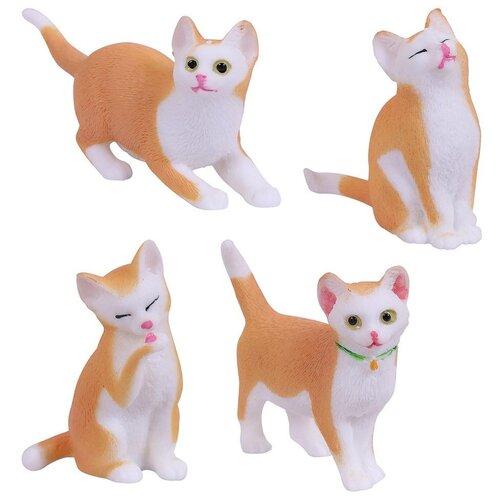 Игрушка-антистресс ABtoys Тянучка Кошка, в инд пакетике 10х10 см. 4 вида
