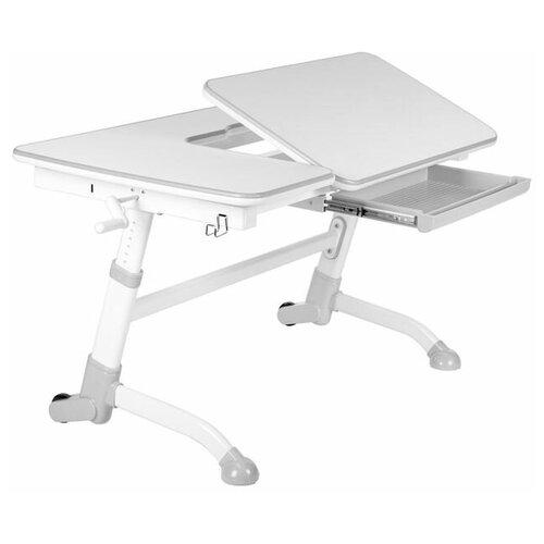 аксессуары для мебели fundesk ящик amare drawer Парта FUNDESK для школьника растущая Amare 119x73 см grey