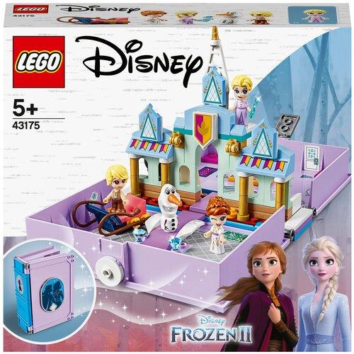 Конструктор LEGO Disney Princess 43175 Книга сказочных приключений Анны и Эльзы конструктор lego disney princess 43176 книга сказочных приключений ариэль