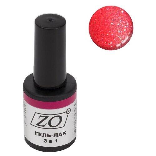 Купить Гель-лак 3 в 1 ZO ZO-GT, 10 мл, 104 малиновый шиммер