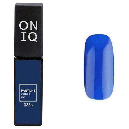 Купить Гель-лак для ногтей ONIQ Pantone, 6 мл, 033S Dazzling blue
