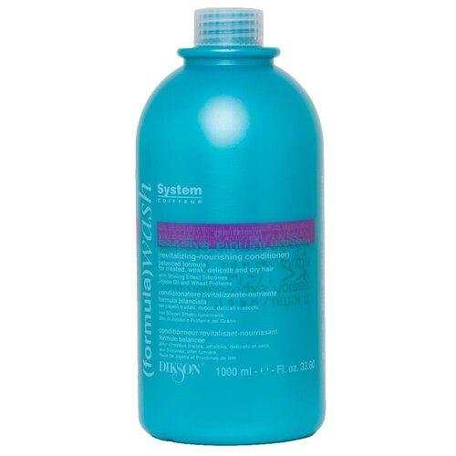 Купить Dikson бальзам для волос восстанавливающий и увлажняющий Formula Wash Revitalizing-Nourishing, 1000 мл