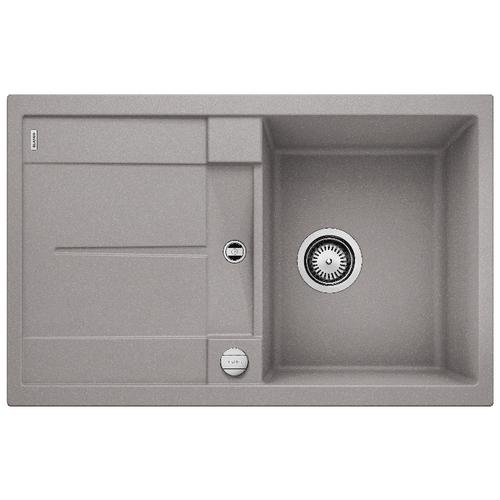 Врезная кухонная мойка 78 см Blanco Metra 45S алюметаллик кухонная мойка blanco rondoval 45s алюметаллик 515763