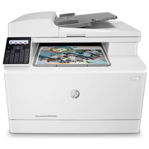 МФУ HP Color LaserJet Pro M183fw, белый
