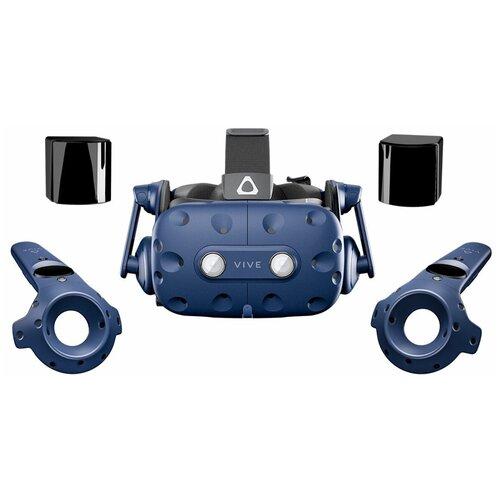 Шлем виртуальной реальности HTC Vive Pro Eye, синий