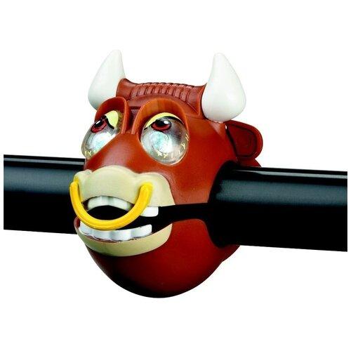Фонарик для самоката Crazy Safety Bull коричневый