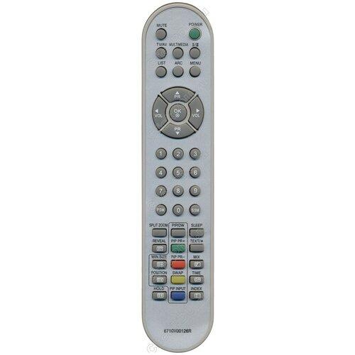 Фото - Пульт Huayu 6710V00126R (6710V00138C,P) ic для телевизора LG пульт huayu 6710v00017h ic для телевизора lg