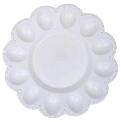 Тарелка для яиц BEROSSI ИК 221 снежно-белый