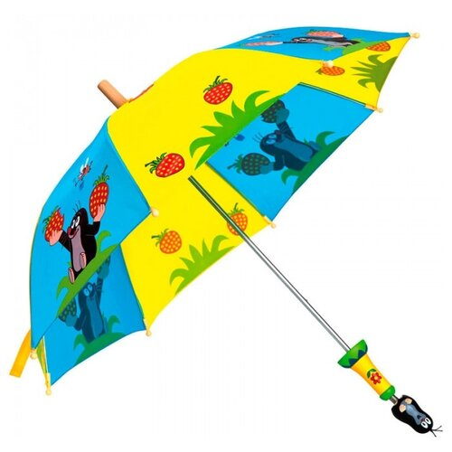 Зонт Bino голубой/желтый