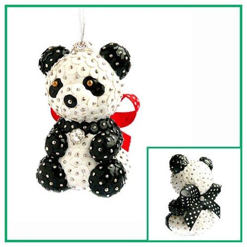 Купить Набор для творчества - елочная игрушка Панда 15, 5 см FS-100, ФИЛИГРИС, Изготовление кукол и игрушек
