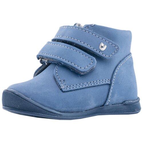 Фото - Ботинки КОТОФЕЙ размер 18, 22 синий ботинки для мальчика котофей цвет синий салатовый 554047 41 размер 30