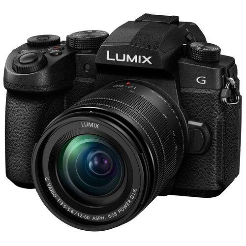 Фото - Фотоаппарат Panasonic Lumix DC-G90 Kit черный G VARIO 1:3.5-5.6/12-60 ASPH. POWER O.I.S. объектив panasonic 12 35mm f 2 8 ii asph o i s lumix g x vario h hsa12035