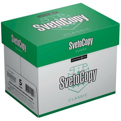 Фото - Бумага SvetoCopy A4 Classic 80 г/м², 500 л., 5 пачк., белая бумага data copy a4 80 г м² 500 лист 5 пачк