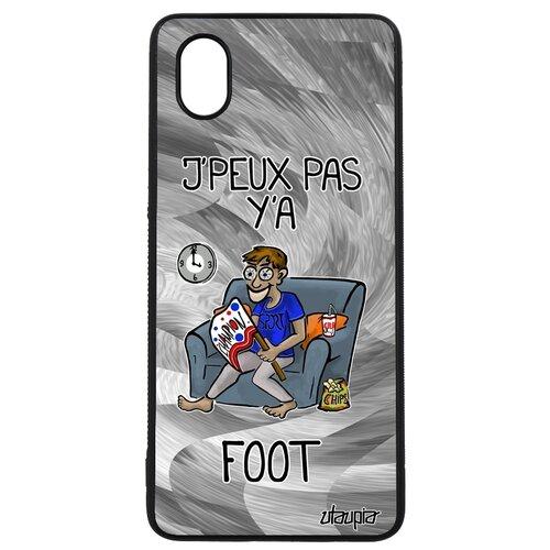 """Чехол на мобильный Samsung Galaxy A01, """"Не могу - смотрю футбол!"""" Спорт Болельщик"""
