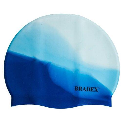 Шапочка для плавания BRADEX мультиколор SF 0330 / SF 0362 / SF 0363, синий