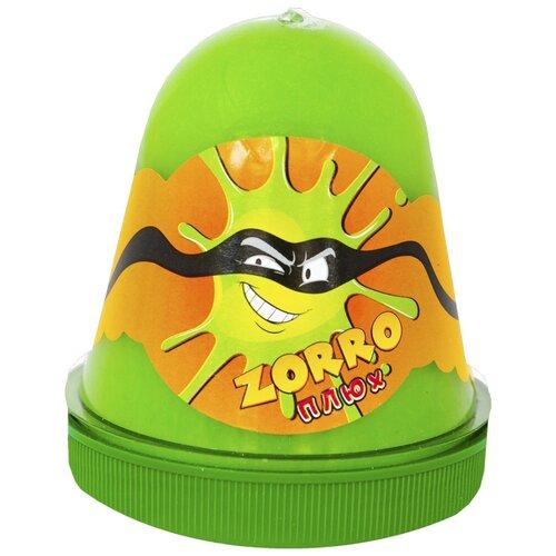 Лизун Плюх Zorro зеленый