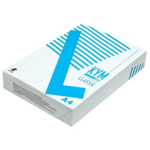 Фото - Бумага Kym Lux A4 Classic 80 г/м² 500 лист., белый бумага creative a4 студенческая 80 г м² 100 лист белый