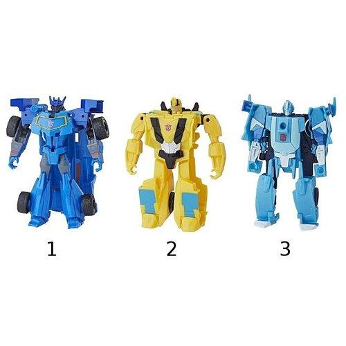 роботы transformers hasbro трансформеры 5 movie уан степ Трансформер Transformers Кибер вселенная Уан Степ (E3522)