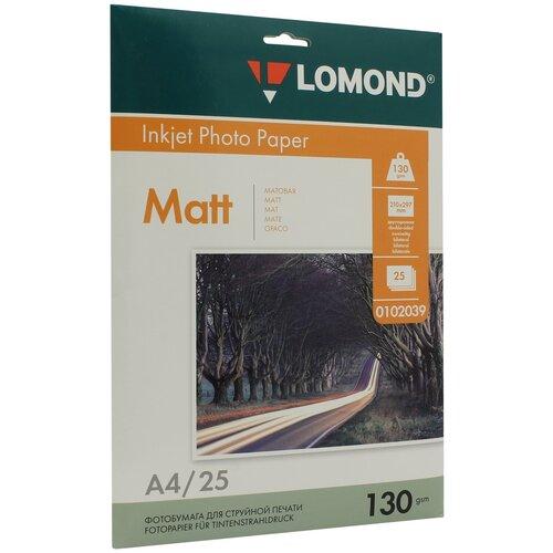 Фото - Бумага Lomond A4 Photo Paper 0102039 130 г/м² 25 лист., белый бумага lomond a4 photo paper 0102049 230 г м² 25 лист белый