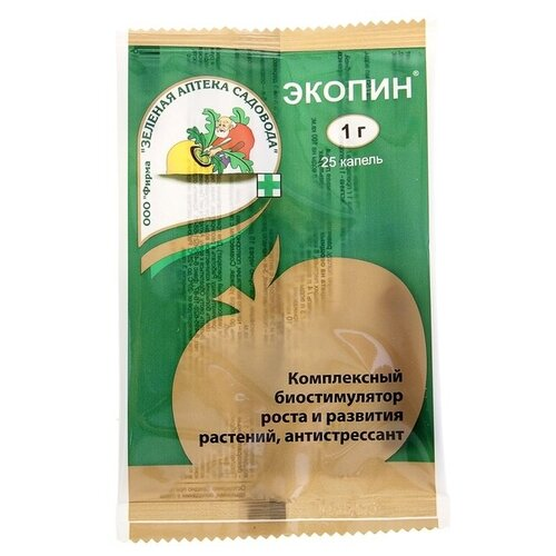 Удобрение Зеленая Аптека Садовода Экопин с антистрессовым эффектом, 0.001 кг