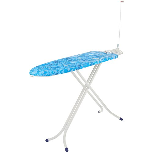 Фото - Leifheit гладильная доска AirBoard Compact M Plus белый/синий/стальной гладильная доска leifheit airboard compact s 110x30cm 72584