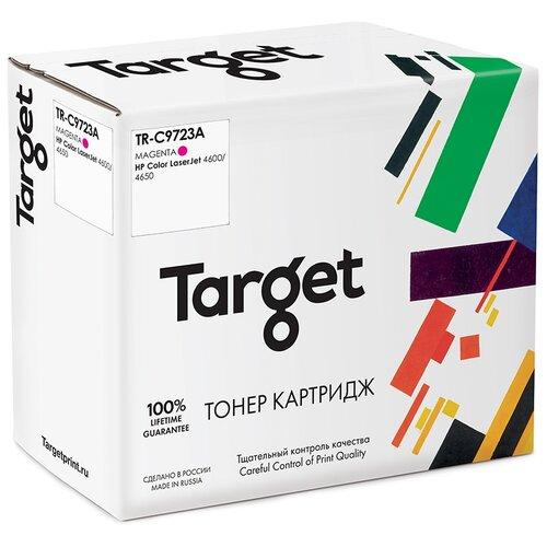 Фото - Тонер-картридж Target C9723A, пурпурный, для лазерного принтера, совместимый картридж target 106r02607m пурпурный для лазерного принтера совместимый