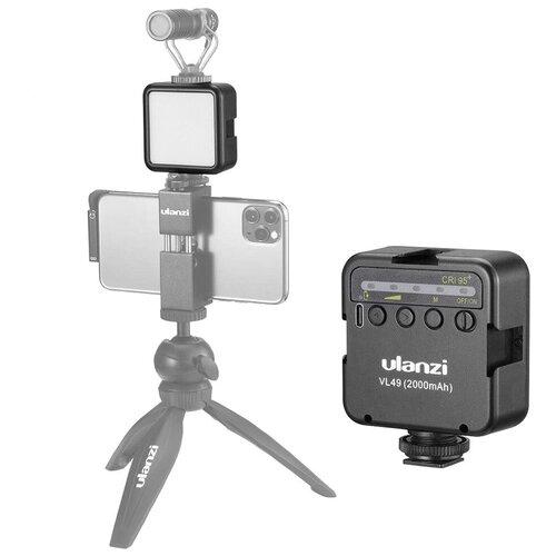 Фото - Осветитель Ulanzi VL49 Mini LED Чёрный осветитель ulanzi vl30