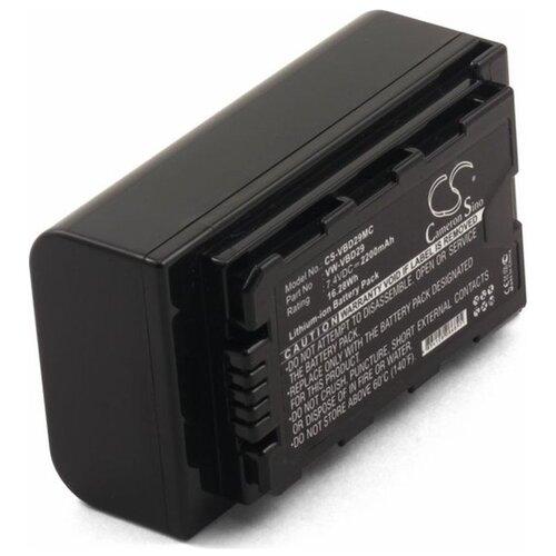 Аккумулятор для фото-видеокамер Panasonic HC-MDH2, 2200mAh