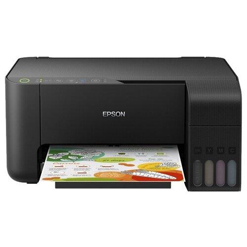 Фото - МФУ Epson L3150, черный мфу epson l6160