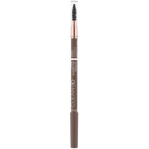Купить CATRICE карандаш для бровей Clean ID Pure Eyebrow Pencil, оттенок 030 Warm Brown