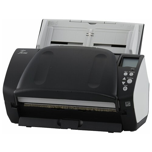 Сканер Fujitsu fi-7160 черный/серый
