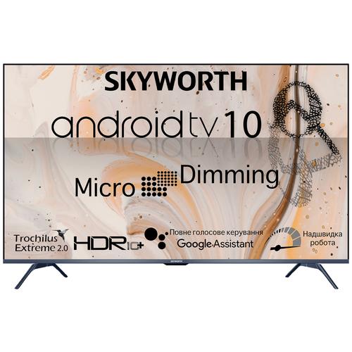"Телевизор Skyworth 55G3A 55"" (2021) черный/серый металлик"