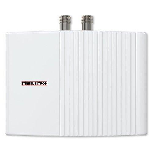 Проточный электрический водонагреватель Stiebel Eltron EIL 4 Plus, белый проточный электрический водонагреватель stiebel eltron dce s 10 12 plus белый
