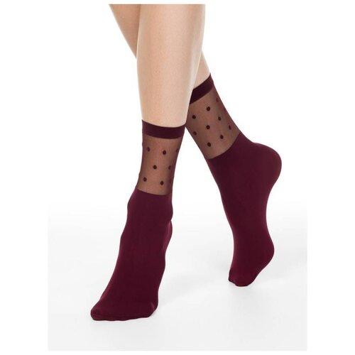 Капроновые носки Conte Elegant 19С-29СП, размер 23-25, Marsala