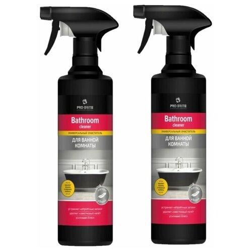 Фото - Pro-Brite спрей универсальный для ванной комнаты Bathroom Cleaner, 2 шт., 0.5 л pro brite гель для сантехники active shine bleach cleaner цветочная свежесть 0 75 л