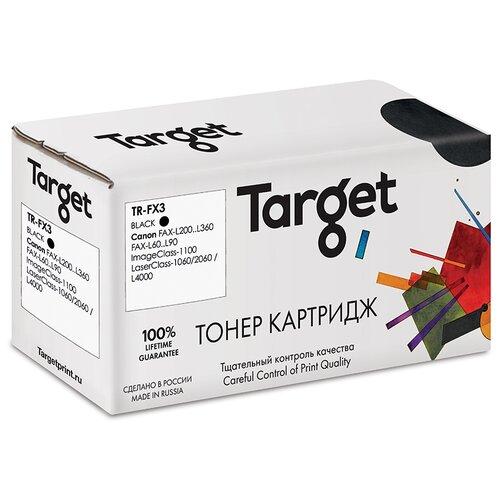 Фото - Картридж Target FX3, черный, для лазерного принтера, совместимый картридж target fx3 черный для лазерного принтера совместимый