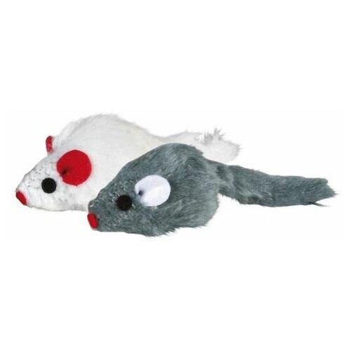Набор мышек, 5 см, с мятой, 6 шт, Trixie (4503) trixie trixie набор мышек для кошек 5 см с мятой 6 шт